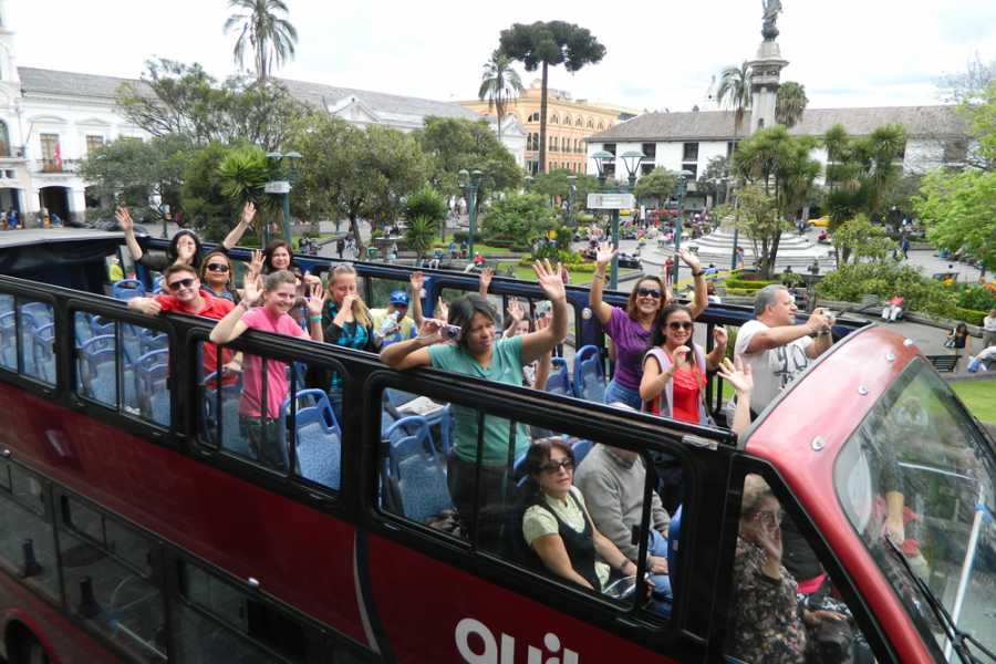 Quito Tour Bus Quito City Tour + Tour Mitad del Mundo