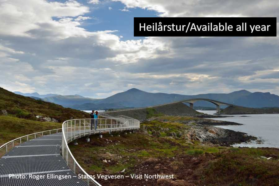 Travel like the locals (Møre og Romsdal) The Atlantic Road & Kristiansund (one way)