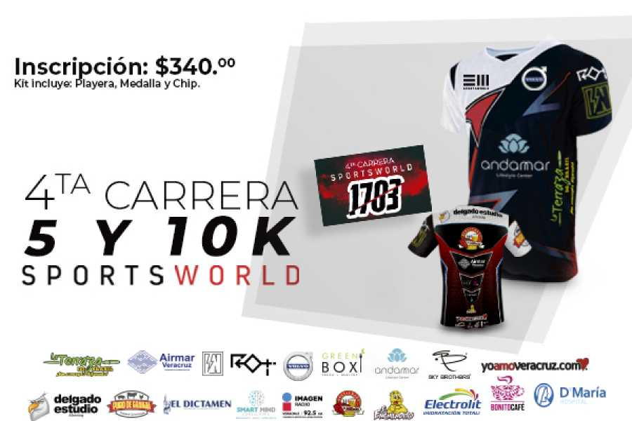 4ta Carrera Sportsworld 2019 5k Y 10k Tours Y Tickets