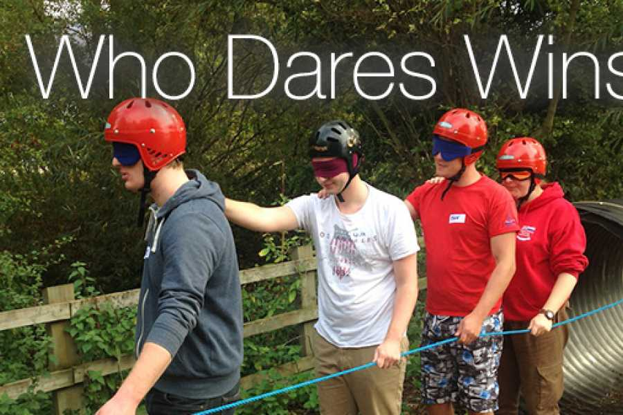 South Cerney Outdoor Corporate Booking - Who Dares Wins