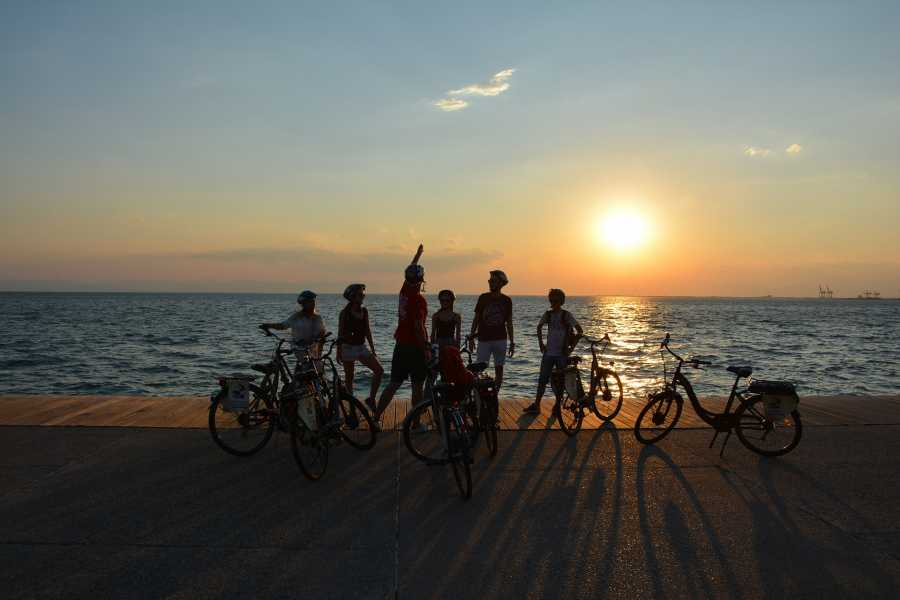 Grekaddict Thessaloniki Sunset Bike Tour