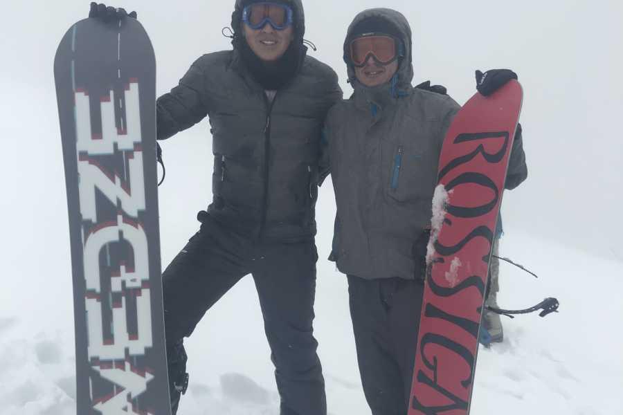 "buhostours Snowboard ""CHARQUINI"""