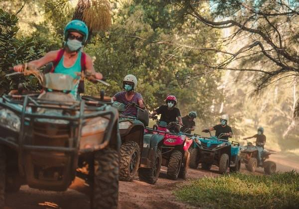 Quadbike Abenteuer in Mauritius - Lost in Nature