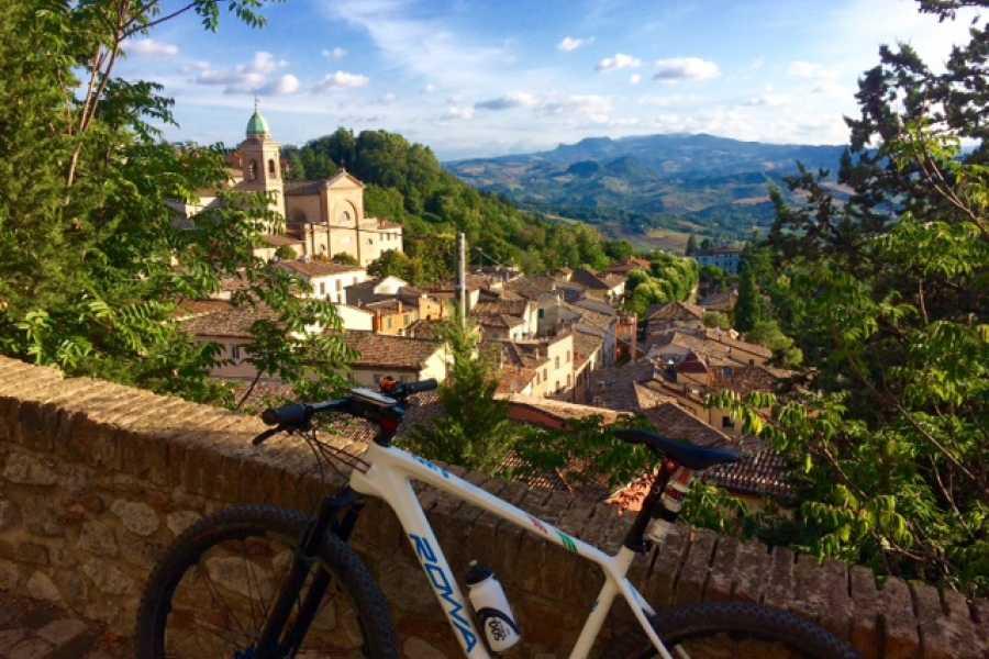 Rimini Reservation Bike Tour Verucchio