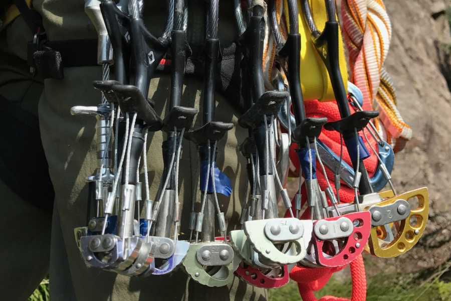 Gloppen Aktiv Trad climbing - learn how to place gear - Course - 3 days