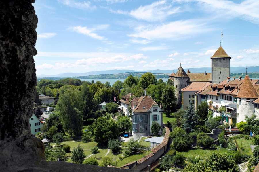 "Murten Tourismus / Morat Tourisme City tour ""Time travel by bike"""