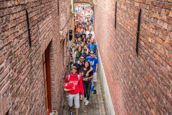 Return Shuttle Service to Bruges & Guided Walking Tour