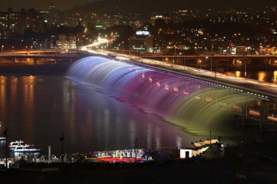 Kim's Travel SP 08 N Seoul Tower & Banpo Bridge & DDP LED Rose Garden Night Tour