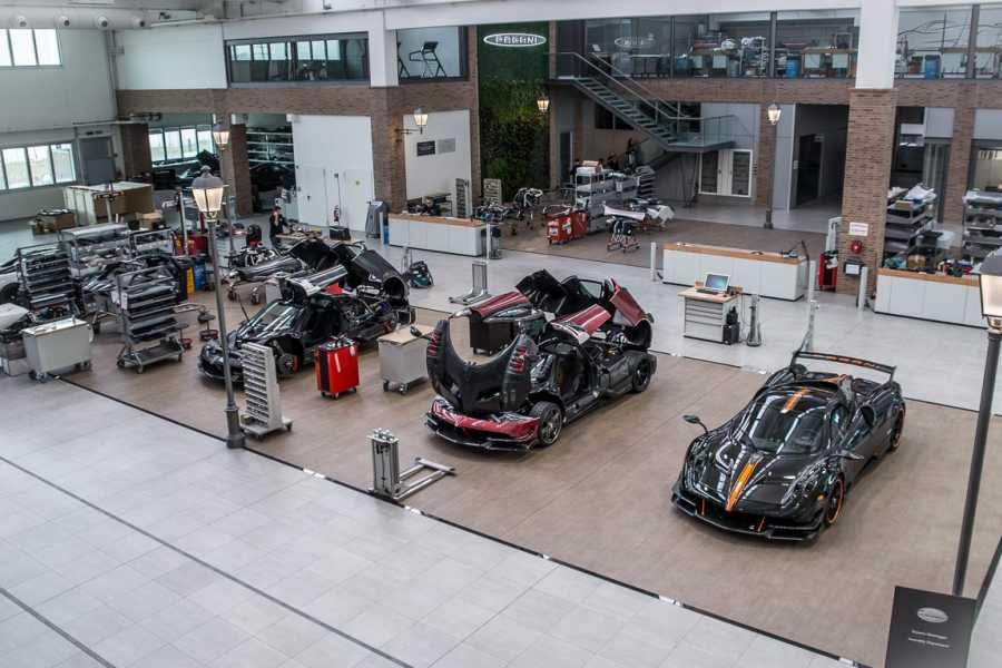 Modenatur MVF/ Pagani Factory and musem tour