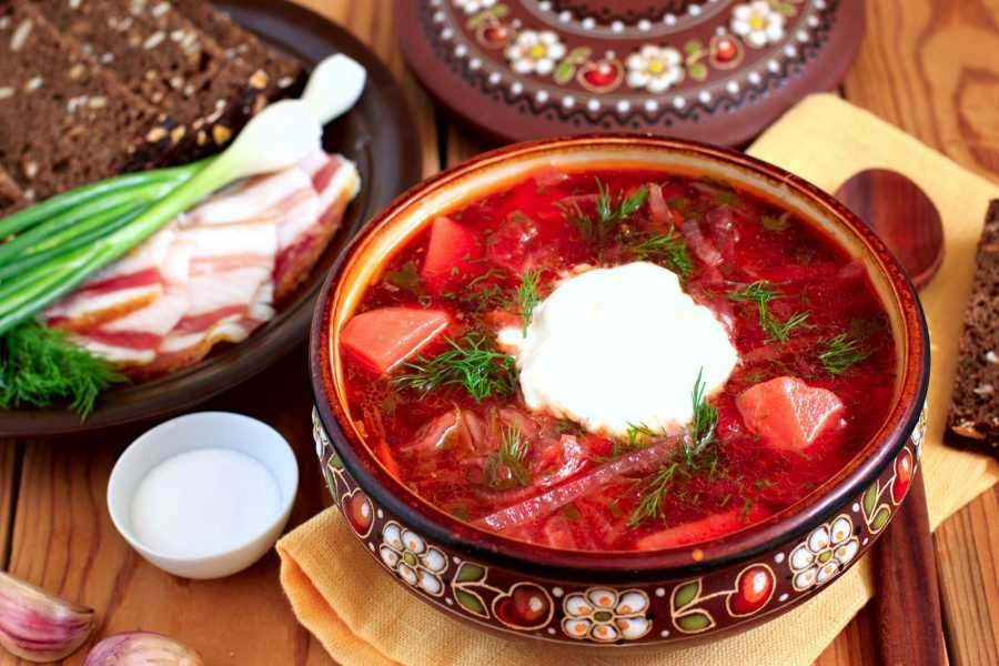Aventour Master class in cooking Ukrainian Borsch
