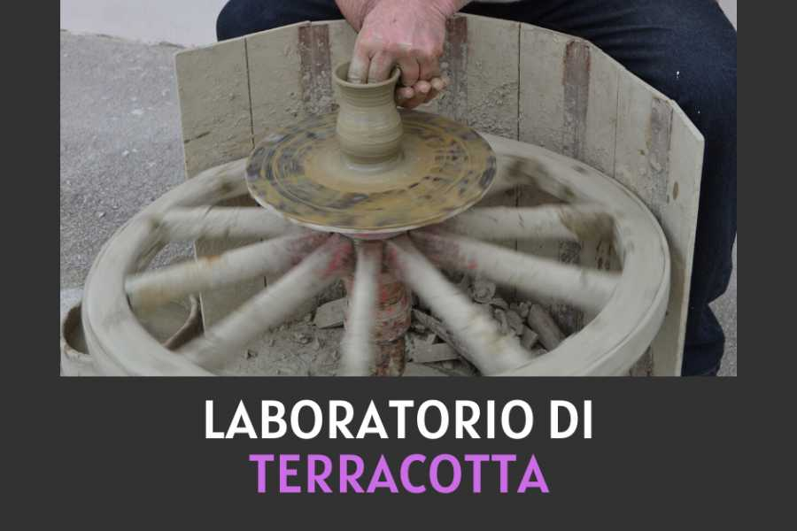 UmbriaMarche The terracotta on the potter's wheel - Laboratory & Tasting