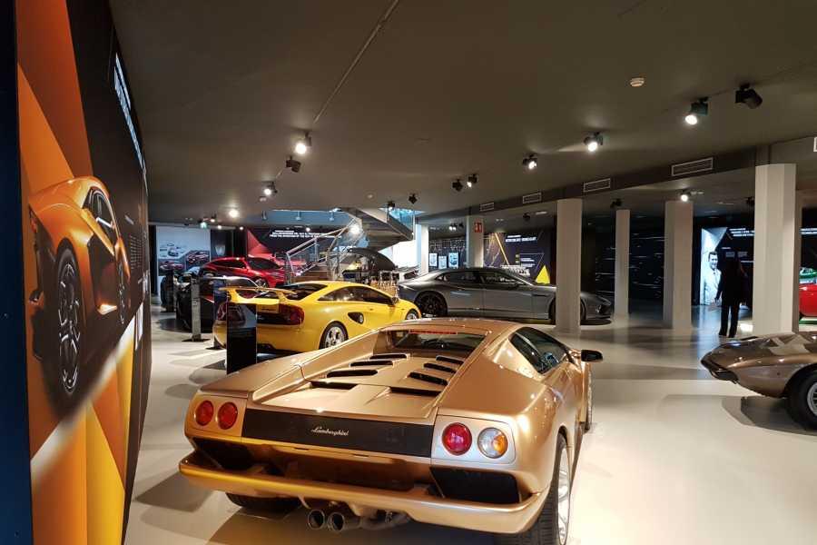 Modenatur MVF/ Lamborghini visita guidata del museo