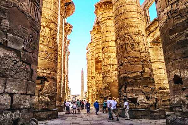"""8 Days Egypt Package """"Pyramids, Nile Cruise"""" by Train"""