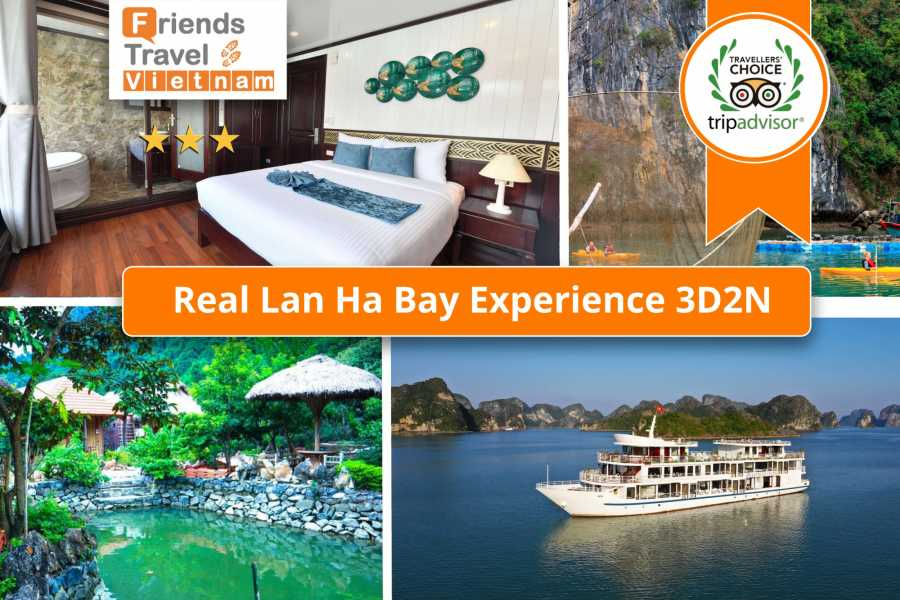 Friends Travel Vietnam *New Secret Tour - Real Lan Ha Bay Experience 3D2N