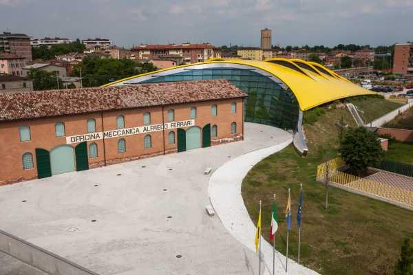 Modenatur MVF/ Enzo Ferrari museum tour