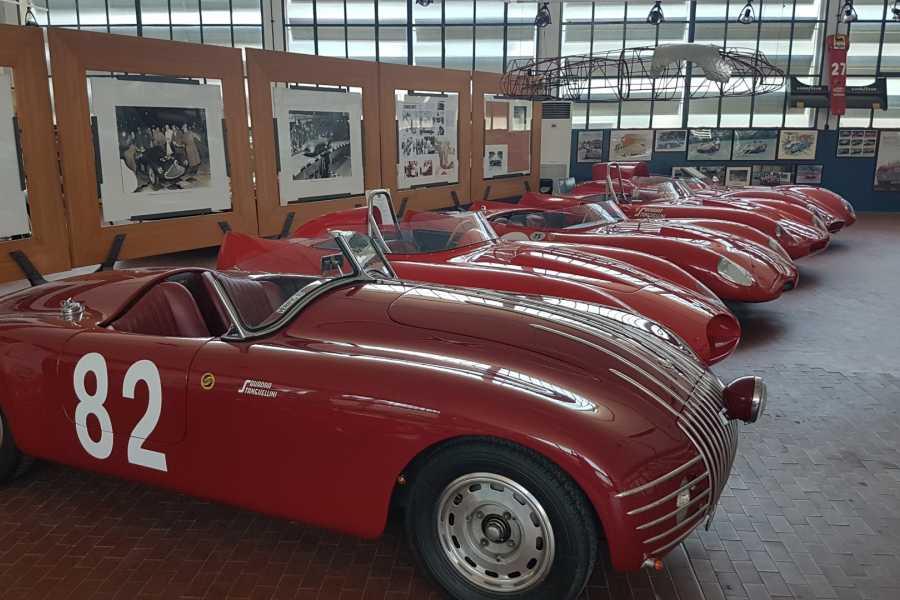 Modenatur MVF/ Stanguellini Museum tour