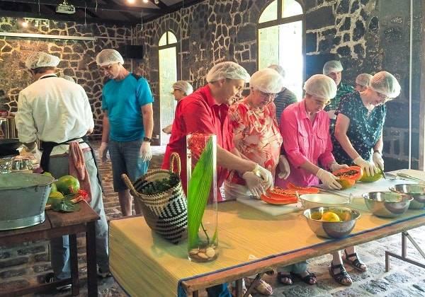 Ki Pou Kwi - Culinary Session at Domaine des Aubineaux