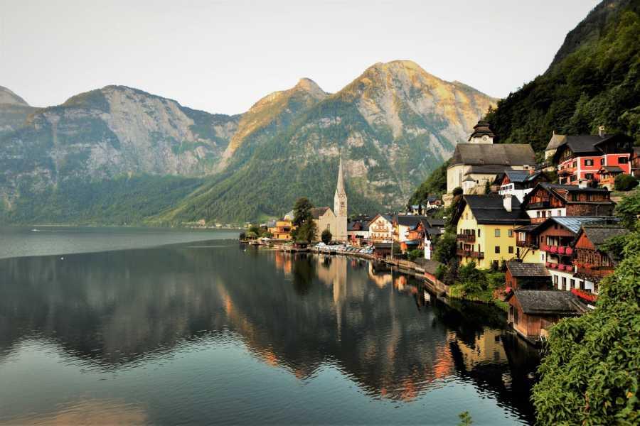 Kultur Tourismus Salzburg Salzkammergut mit Hallstatt 8 Stunden