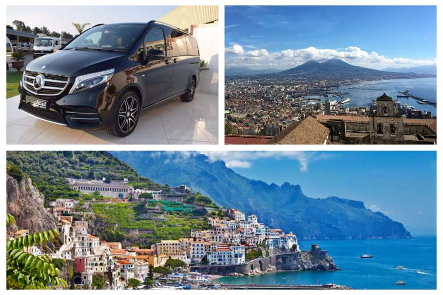 HP Travel Private Transfer in Minivan from Naples to Amalfi Coast