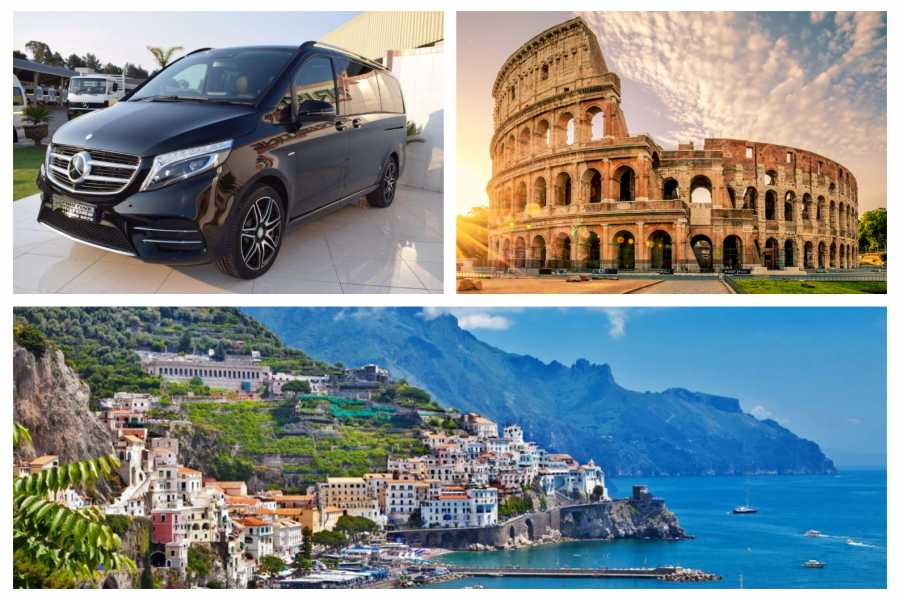 HP Travel Private Transfer in Minivan from Rome to Amalfi Coast