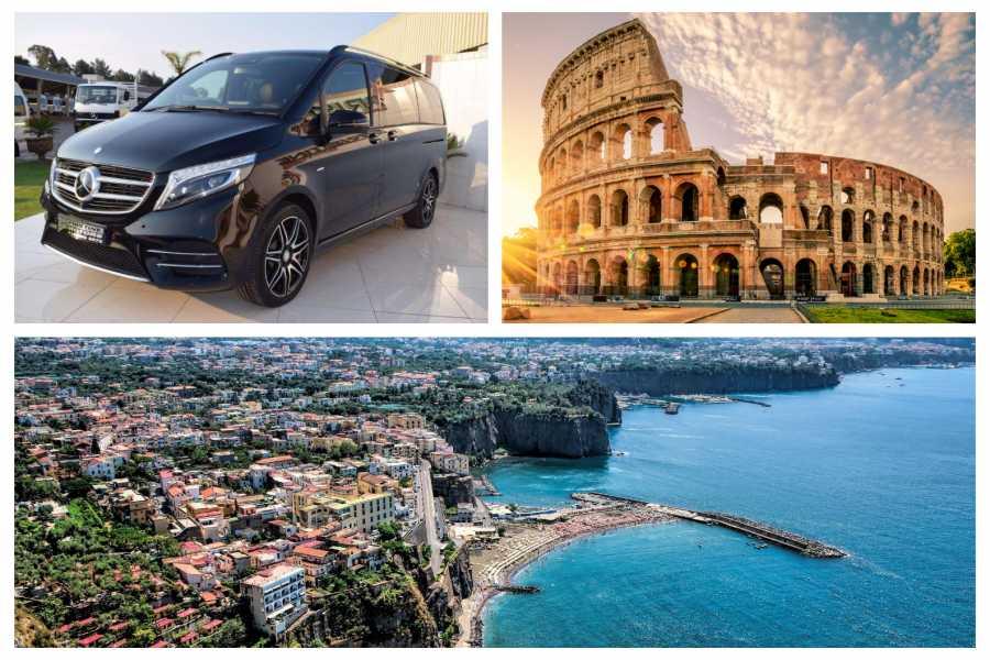 HP Travel Private Transfer in Minivan from Rome to Sorrento