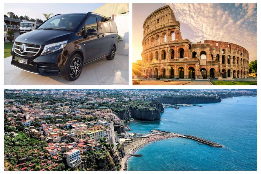 HP Travel Private Transfer in Minivan from Sorrento to Rome