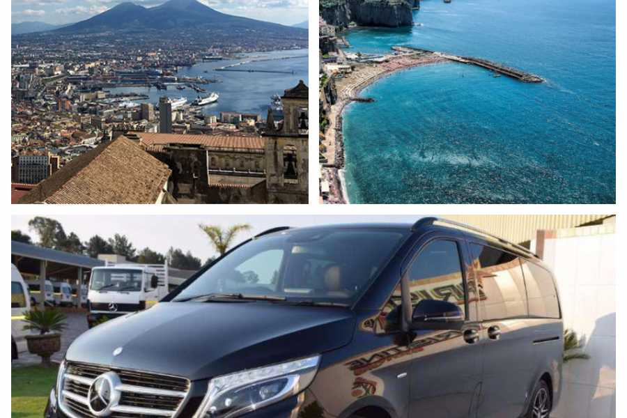 HP Travel Private Transfer in Minivan from Naples to Sorrento