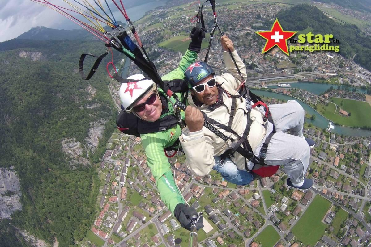 Star Paragliding, Switzerland 2 - THE MEGA STAR