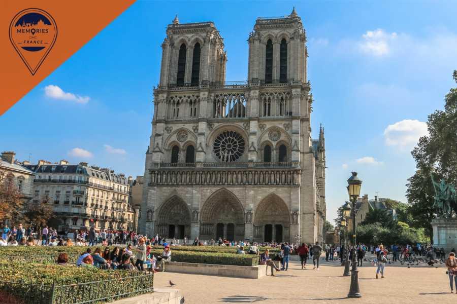 Memories DMC France Notre Dame's Island with Sainte Chapelle and Marie Antoinette's prison