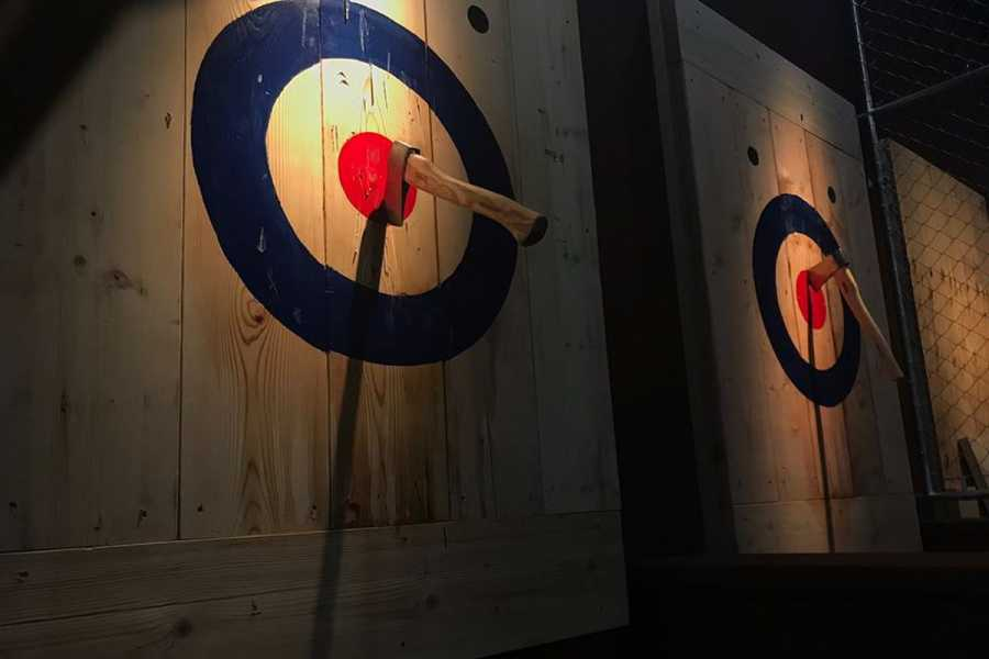 South Cerney Outdoor Corporate Booking - Axe Throwing