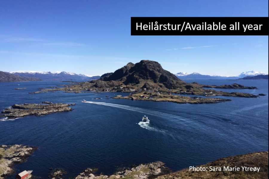 Travel like the locals Sogn & Fjordane Evening cruise in the Florø archipelago