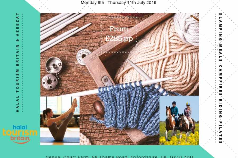 Halal Tourism Britain Knitting and Horse Riding Glamping Retreat