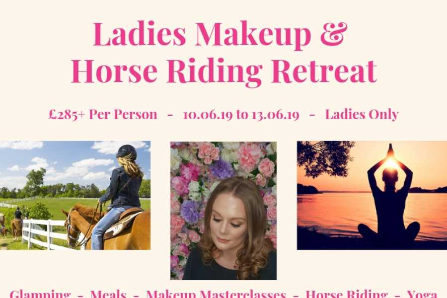 Halal Tourism Britain Make up and horse riding glamping retreat