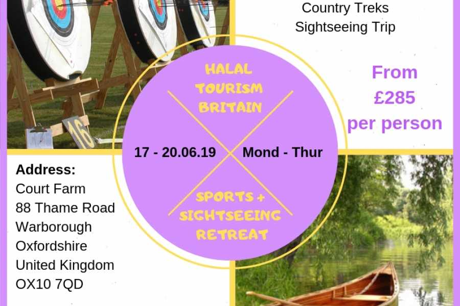 Halal Tourism Britain Sports and Sightseeing Glamping Retreat