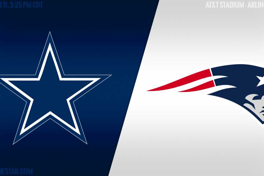 Dream Vacation Tours Dallas Cowboys at New England Patriots