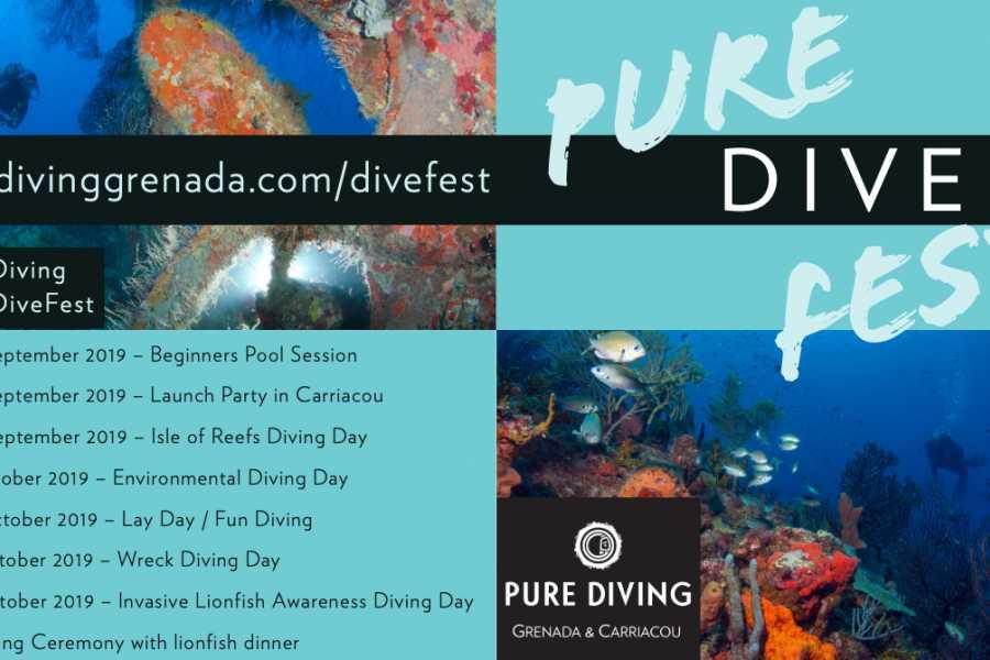 Aquanauts Grenada Pure Grenada Dive Fest 2019