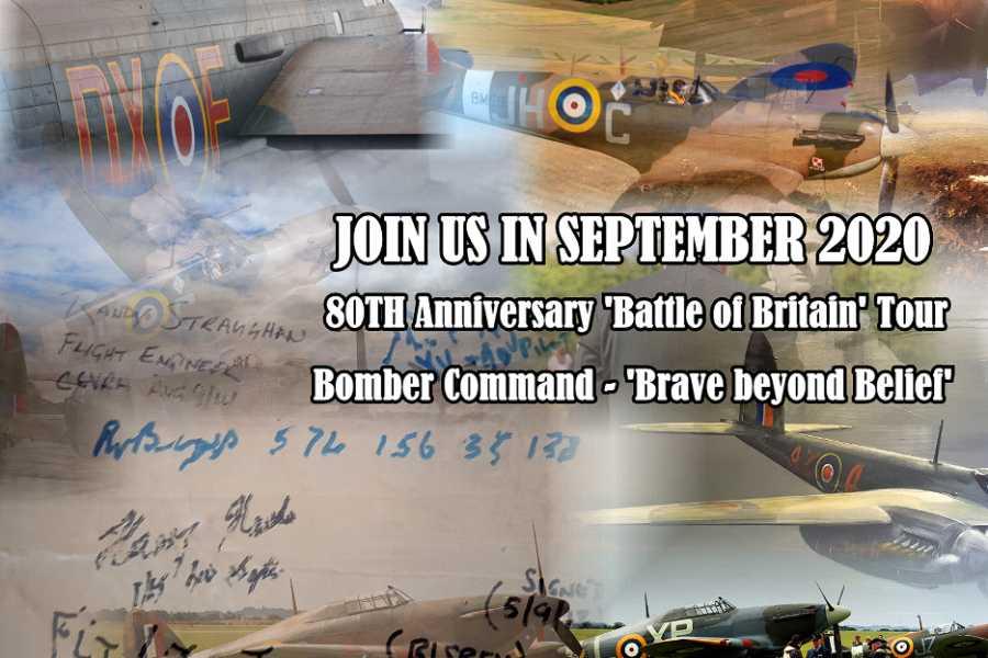 Spirit of Remembrance Ltd. Battle of Britain 80th Premium Anniversary Tour