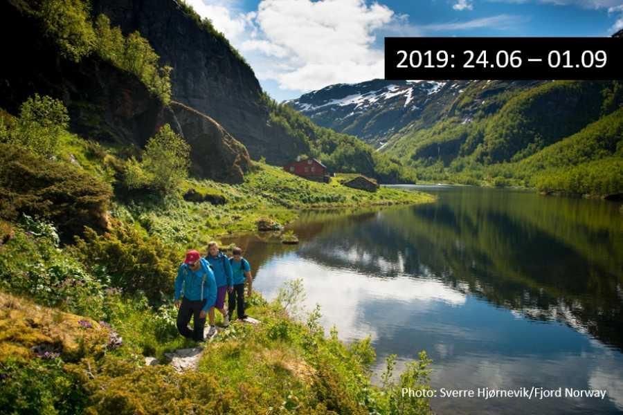 Travel like the locals Sogn & Fjordane Vandrebussen til Aurlandsdalen