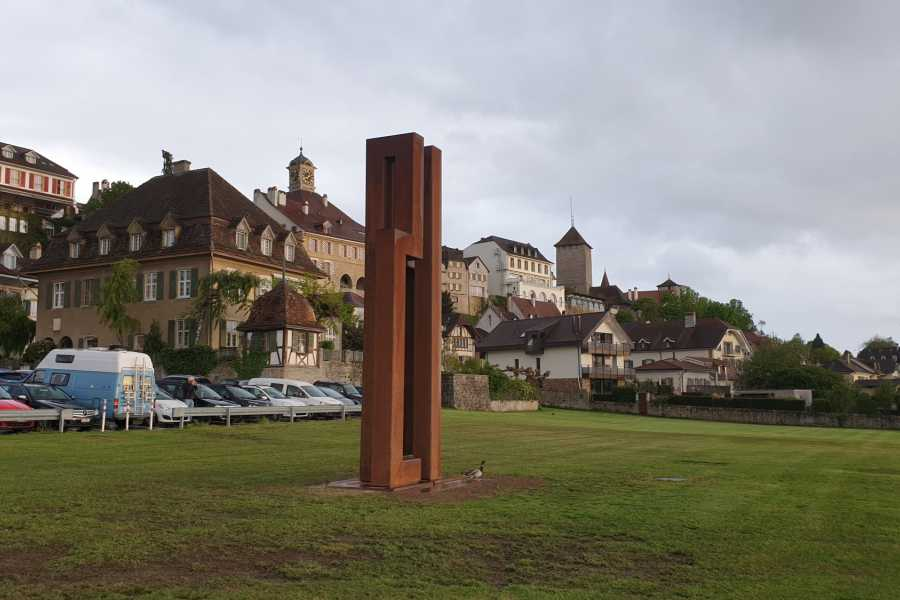 "Murten Tourismus / Morat Tourisme Rundgang ""Jetzt Kunst"