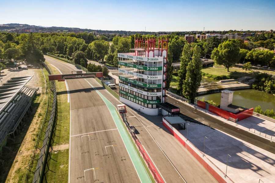 "IF Imola Faenza Besuch der Autorennstrecke ""Enzo e Dino Ferrari"""