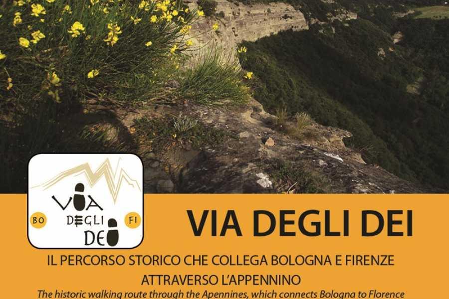 Emilia Romagna Welcome Via degli Dei: Carta Escursionistica + Guida Turistica