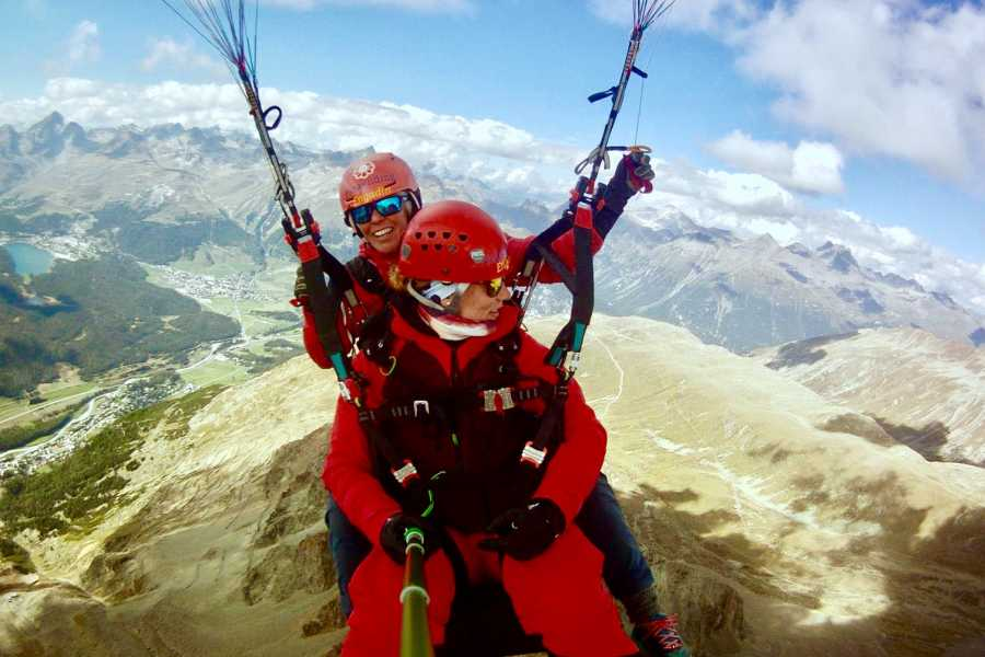 Paragliding Engadin GmbH Cross Country Flight