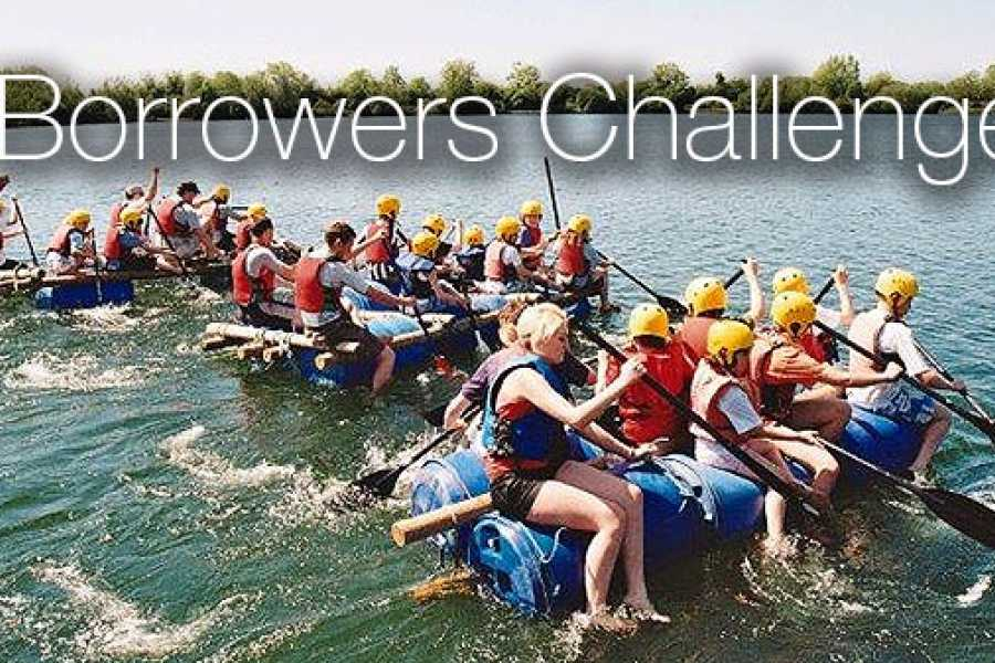 South Cerney Outdoor Corporate Booking - Borrowers Challenge