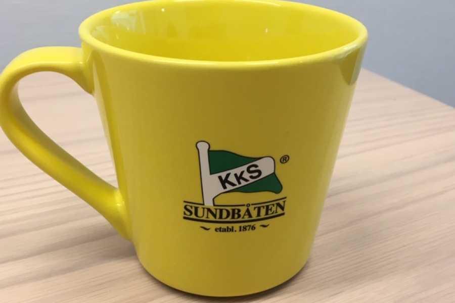 sundbaten Souvenir, yellow brand / vår gule varemerke