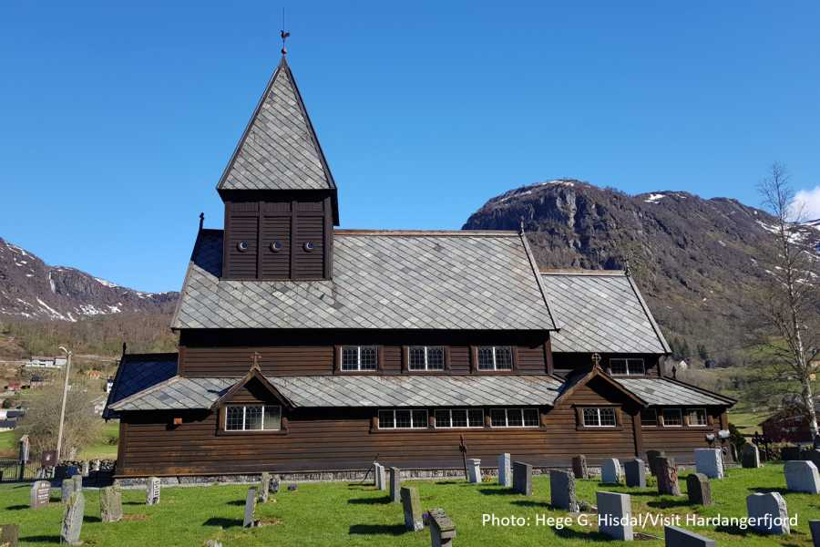 Travel like the locals WATERFALLS AND RØLDAL STAVE CHURCH