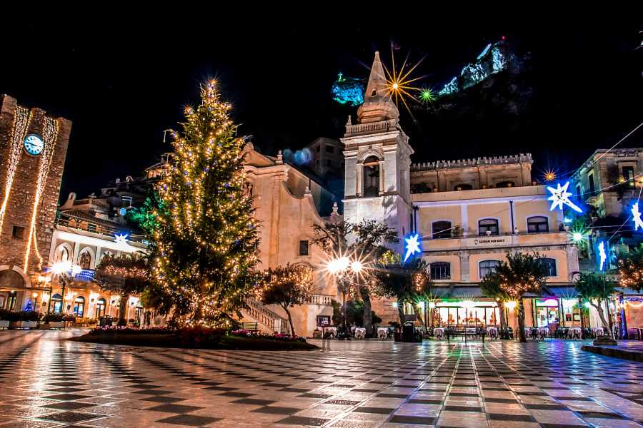 Dimensione Sicilia Incoming Operator New Year's Eve Tour of Sicily Special 8 Days