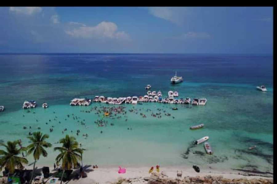 Marina Blue Haiti Mikaz Beach Boat Party