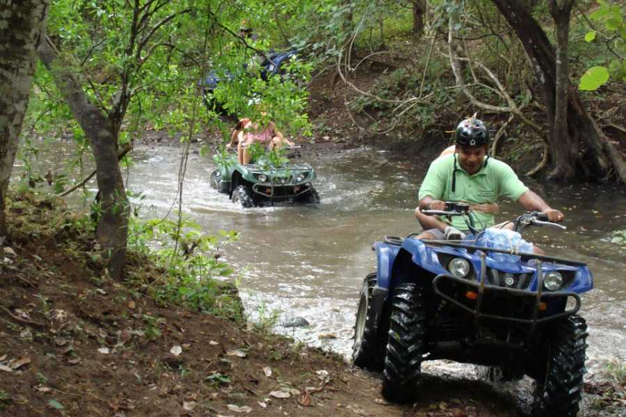 Congo Canopy Papagayo ATV + Floating Boat Tour