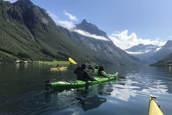 1 day, Hidden Fjord Kayaking Trip