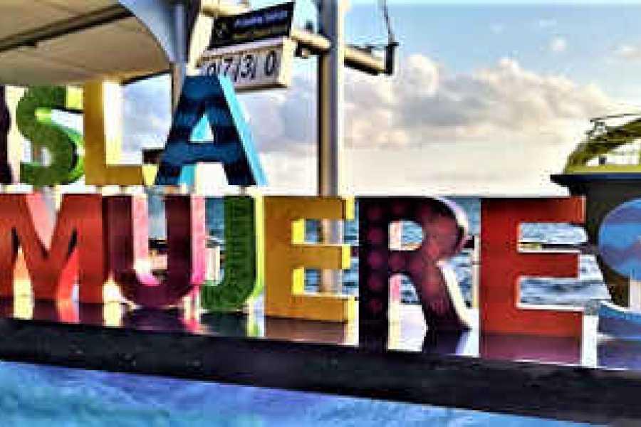 VIAJERO MEXICO Isla Mujeres Deluxe, mit dem Golfwagen